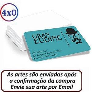 CARTÃO DE VISITA COM 4 CANTOS ARREDONDADOS