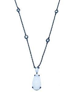 Colar Vela Tiffany Branco