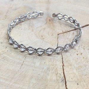 Bracelete Diamantado Cristal