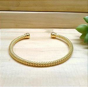 Bracelete Torcido Dourado