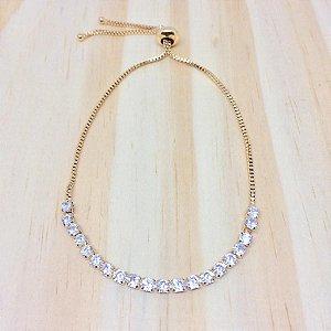 Pulseira Gravatinha Cristal