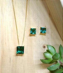 Conjunto Quadrado Verde Paraíba Dourado