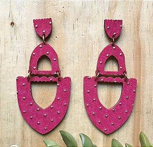 Brinco MDF Pink