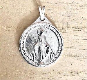Pingente Nossa Senhora das Graças Prata