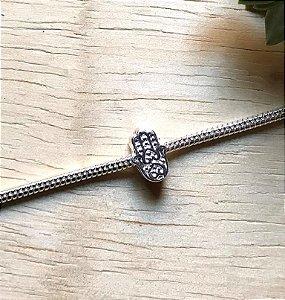 Berloque Mão de Fátima Prata