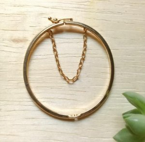 Bracelete Infantil Dourado