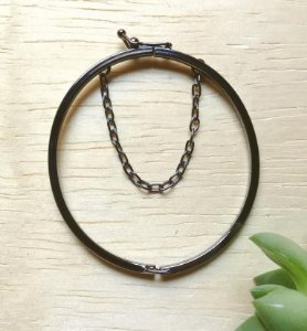 Bracelete Infantil Ródio Negro