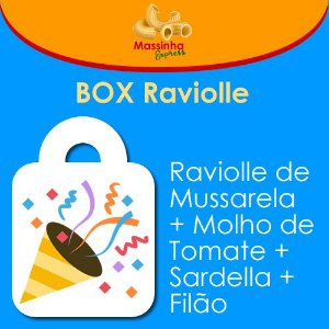 Box Raviolle - 4 pessoas