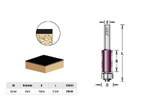 Fresa Reta/Paralela com Rolamento Inferior 9,5 x 15mm AGE™ Pro-Series Amana Tool - [FR140]
