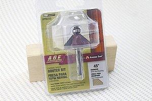 Fresa para Chanfrar com Rolamento 45° AGE™ Pro-Series Amana Tool Rolamento [FR220]