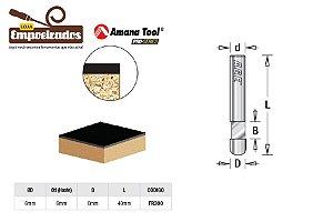 Fresa AGE™ Pro-Series Amana Tool - Piloto para Laminados 0° [FR300]