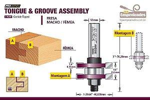 Fresa AGE™ Pro-Series Amana Tool - Macho e Fêmea [FR380]