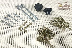 Kit Empoeirados - Acessórios para mesa de Tupia