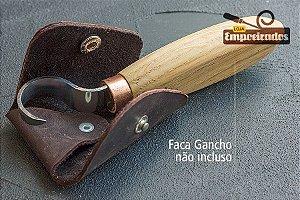 """Estojo de Couro para Facas em Gancho SK5 """"R"""" e """"L"""" Mod. SH2 - Beavercraft"""