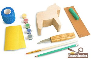 Kit de Entalhe Hobby e Iniciantes Cavalo DIY02 - Beavercraft