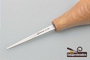 Formão de Palma Reto e Plano (Sweep Nº1 - 2mm) P1/02 - Beavercraft