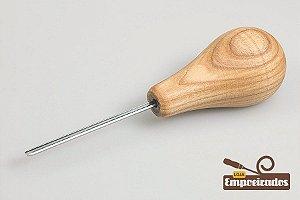 """Formão de Palma Reto em """"V"""" (Sweep Nº12 - 2mm) P12/02 - Beavercraft"""