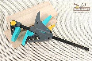 Grampo Wolfcraft - PRO-M - 65-150 com cabeça removível
