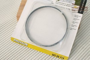 Lâmina de Reposição Serra de Fita para MBS 240/E Proxxon - 24 Dentes Finos Standard 25mm [28174]