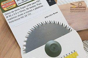 Disco de Serra para Microserra circular Proxxon FET - 80 dentes [28731]