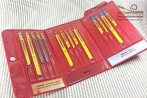 Kit Serra Tico Tico Starrett BU6 - Com 14 serras