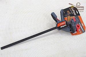 """Grampo de Aperto Rápido para Marceneiro - Connect Lufkin - 24""""/60cm"""