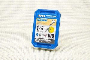 """Parafuso Kreg Rosca Fina 1.1/4"""" - 32mm - Cabeça Panela [SPS-F125-100]"""