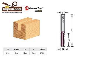 Fresa AGE™ Pro-Series Amana Tool - Reta/Paralela 3 x 10mm [FR102]