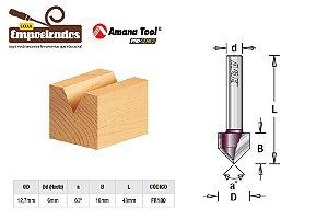 Fresa AGE™ Pro-Series Amana Tool - V-Grove 60º 12,7 x 16mm [FR180]
