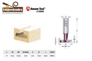 Fresa AGE™ Pro-Series Amana Tool - Painel Canaletado 16 x 32mm [FR310]