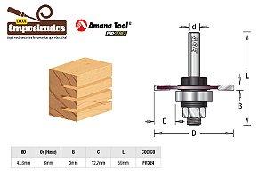 Fresa AGE™ Pro-Series Amana Tool - Canal Debrum - 3mm [FR324]