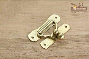 Fecho 47x35 Médio Dourado para Cadeado com 5 unidades