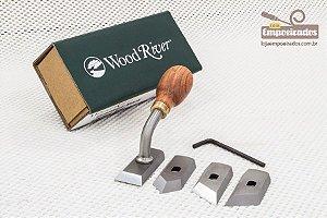 Formão com Pescoço para Rebaixo em Madeira com 4 lâminas - WoodRiver