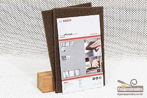 Manta Abrasiva Bosch Grossa - Marrom - 2 unidades