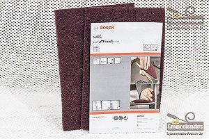Manta Abrasiva Bosch Super Fina - Roxa - 2 unidades