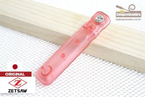 Cabo para Serrote Japonês Flush TopMan Flexível Dente Simples e Duplo Dente Rosa - 150mm