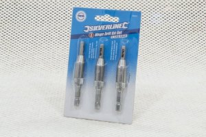 Kit 3 Brocas Centralizadoras - Silverline