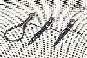 Kit de compassos com 3 peças - Groz