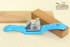 Plaina de Contorno Spokeshave Plana 250mm - Silverline