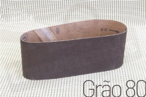 Lixa cinta Manrod - #80 - 100x610mm