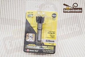 Broca tipo Forstner com ponta de metal duro e riscador Amana Tool 20mm - 620-200