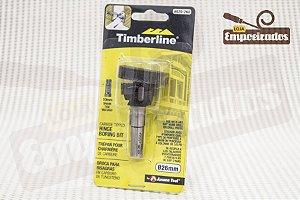 Broca tipo Forstner com ponta de metal duro e riscador Amana Tool 26mm - 620-260