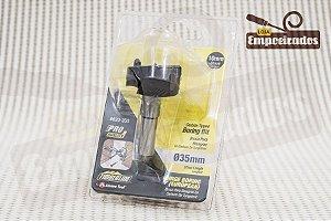Broca tipo Forstner com ponta de metal duro e riscador Amana Tool 35mm - 620-350