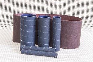 Kit de lixas para lixadeira Manrod Eixo + Cinta MR-41417 - #240 - 06 unid.