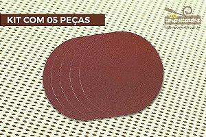 Disco De Lixa para Lixadeira Proxxon TG125/E Grão 80 - 5 peças [28160]