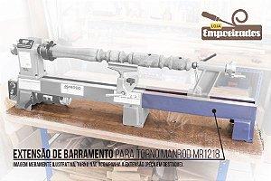 Extensão de barramento para torno MR-1218 - Manrod MR-1218EX