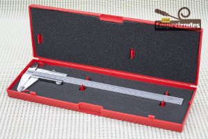 """Paquímetro Starrett 125MEB 8""""/200mm - Escala Polegada Fracionária - 0,05mm e 1/128"""""""