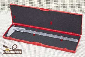 """Paquímetro Starrett 125MEB 12""""/300mm - Escala Polegada Fracionária"""