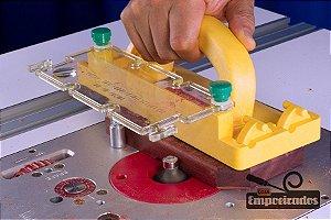Protetor Transparente contra Lascas e Poeira e Conector para GR-100 e GR-200 - Microjig (GRDC-020)