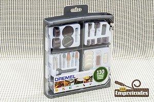 Kit de Acessórios para Microrretífica 709RW2 - 110 pçs - Dremel